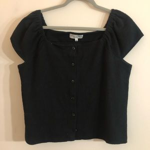 New Without Tags! Black Madewell Top!